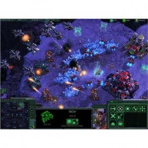 Starcraft actual game play from Amazon